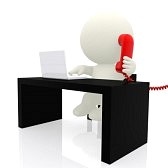 12619749-3d-businessman-on-the-phone--isolated-over-a-white-background