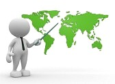 18783986-3d-people--man-person-with-the-world-map