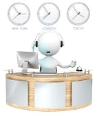 20461786-reception-classic-reception-with-3-clocks-receptionist-talking-on-headset