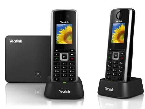 Yealink W52P wireless IP Phone with 2 handsets
